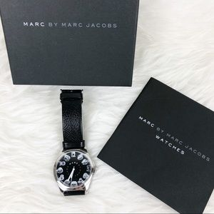 MARC BY MARC JACOBS Cartoon Face Black Watch